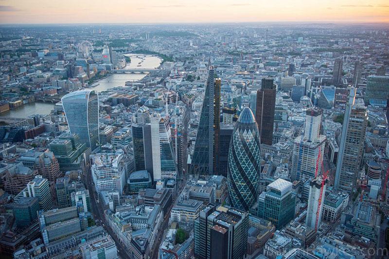 Thủ đô london - thành phố lớn nhất Vương quốc Anh