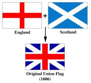Lá cờ Union Flag đầu tiên