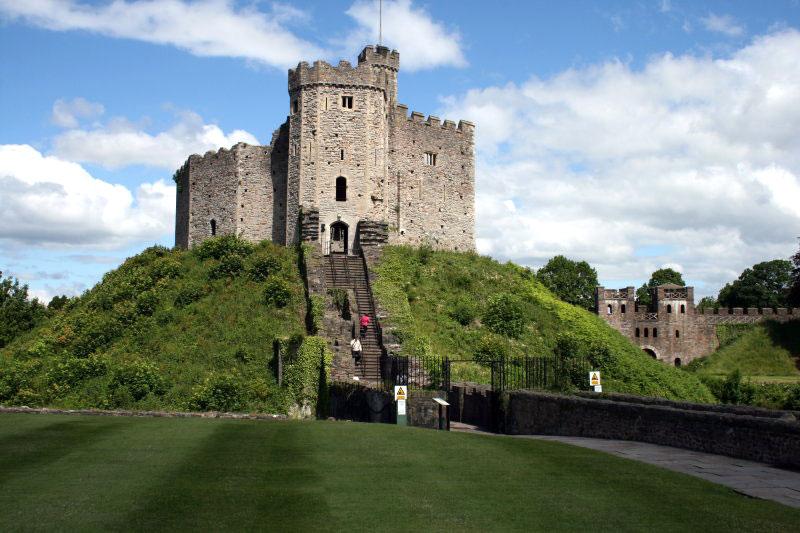Kết quả hình ảnh cho Lâu đài Cardiff