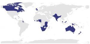 UK, Britain, Great Britain (GB) và the British Isles